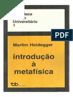 Introdução à Metafísica - Martin Heidegger