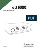 Scarlett Solo 3rd Gen User Guide_ESP