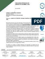 Informe Hurto Pc Portatil Edificio Dtb Julio 15 2020 Sec Gral