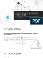Chapter 05 - Continuous Random Variables