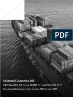 Dynamics365 2020 Release Wave 2 Plan