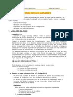 01 DEL CUMPLIMIENTO DE LAS OBLIGACIONES