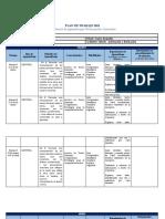 Plan de Trabajo Nivelación de Aprendizajes 2021 II Medio