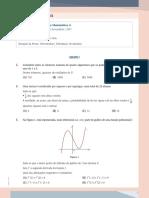 Matemática - Prova Oficial 2017 1 Fase