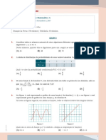 Matemática A - Prova Oficial 2017 2 Fase