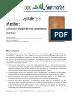 Das Neue Kapitalisten-Manifest.