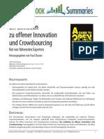 Ein Leitfaden Zu Offener Innovation Und Crowdsourcing.
