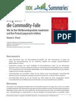 Sieg Über Die Commodity-Falle.