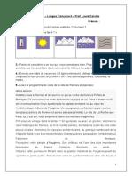 20 Langue II - 1er Examen Partiel