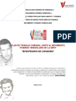 8. PLAN COMUNAL VIVIENDO VENEZOLANO CARABOBO 2021 v2