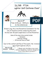 Mother and Daughter Self Defense