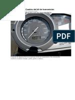 BMW F 650 GS Cambio Del Kit De Transmisión