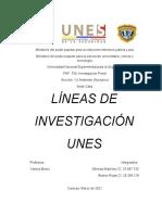 trabajo lineas de investigacion