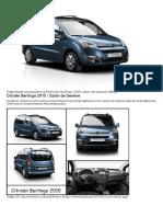 Citroën Berlingo 2015 - Infos sur le nouveau modèle