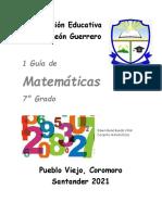 matematicas septimo