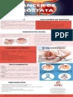 CÁNCER DE PRÓSTATA infografia
