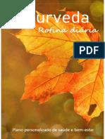 Ayurveda - Rotina diária