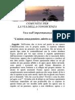 5 - L'AZIONE SENZA PENSIERO