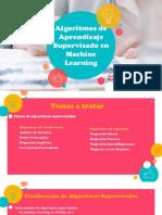 Presentacion - Algoritmos de machine learning supervisado