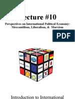 Lecture 10Economics (2)