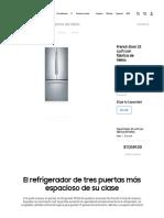 French Door 22 cu.ft con fábrica de hielos _ Samsung México