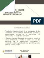 LINEA DE INTERVENCION DEL PSICOLOGO ORGANIZACIONAL