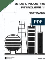 Lexique de l'Industrie Pétrolière - Raffinage