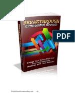 Breakthrough Experiential Growth