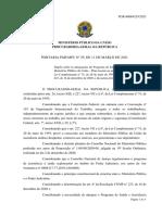 Portaria 29_PGR_MPU Altera Regras Assistencia Saude 11mar2021