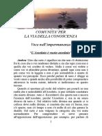 15 - L'ASSOLUTO E' VUOTO ASSOLUTO