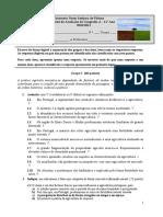 teste avaliação resolvida - 11ºA2-A3 -