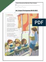 Atividades de Língua Portuguesa-09-03-2021