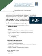 ESQUEMA PARA ELABORAR PROYECTOS E INFORMES DE INVESTIGACIÓN