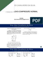 Flexo Compressão Normal