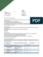 BIM Project Audit Checklist