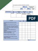 Pauta Evaluación Maqueta Ecosistemas y Ficha