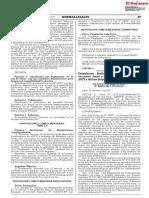RM N° 00016-2021-PRODUCE límites Jurel y Caballa 2021