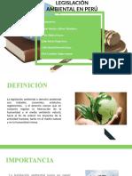 Legislación Ambiental en Perú (1)