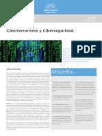 Ciberterrorismo y ciberseguridad