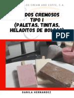 HELADOS CREMOSOS TIPO I