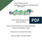 Ingeniera de Estándares de tiempo Carlos Emir Solano Santiago