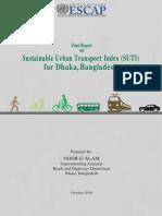 SUTI Mobility Assessment Report - Dhaka