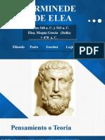 PARMINEDES DE ELEA - JUAN
