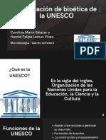 Declaracipm de bioetica de la UNESCO