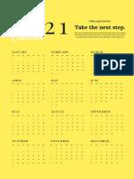 Poster Calendar 2021