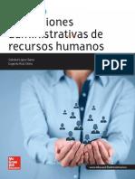 Estructura del departamento de recursos humanos