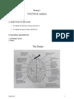 English 1 - JAWABAN B INGGRIS  1 - structure nouns articles