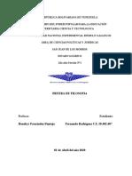 2do Año Sección 1 Prueba de Filosofía de Fernando Rodríguez C.I 28482407