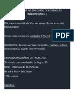 Lousa Intermediário 3 - 202101