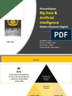 (iLUNI FEB-UI) Pemanfaatan  Big Data & Artificial lntelligence Dalam Ekonomi Digital